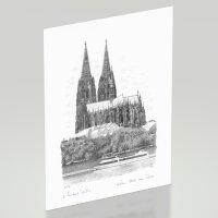 Malvorlage Kölner Dom