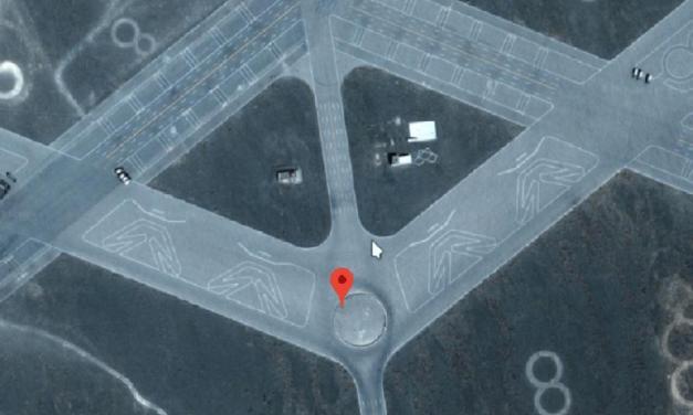 Ukrývá Čínská poušť podivné obrazce, nebo mimozemské základy