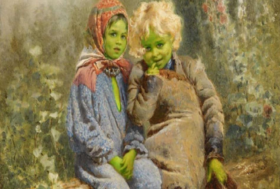 Zelené děti z Woolpitu jsou dosud nevyřešenou záhadou