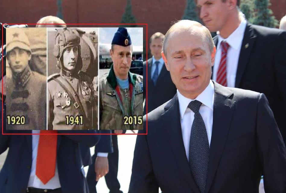 Putin: případ nesmrtelného a neohroženého