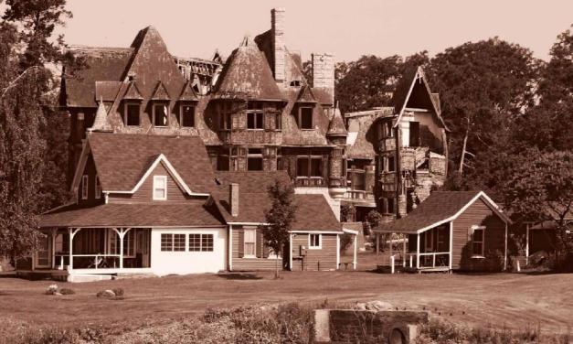 Opuštěná Carletonová vila budí respekt i strach