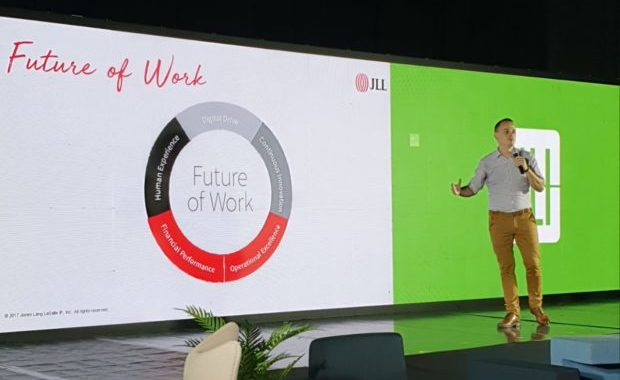 JLL helps shape the real estate industry with the Future of Work