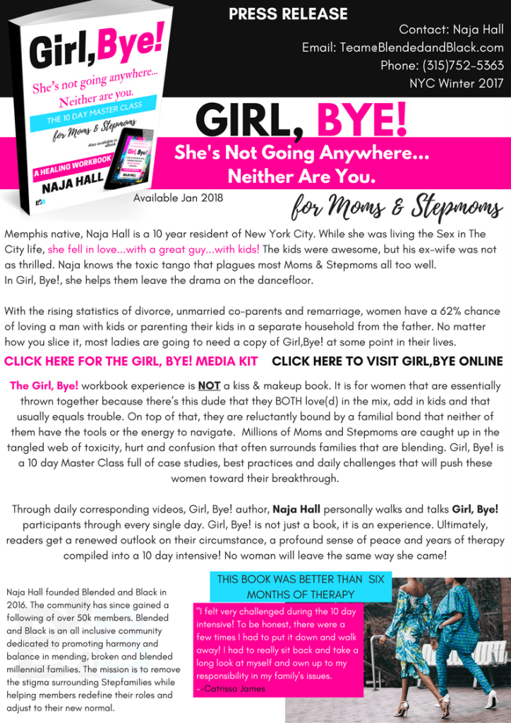 Girl Bye Press Release pdf