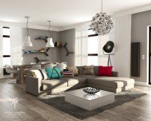 Render Carpets Architecture With Blender