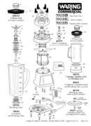 Waring 7011HS Manual Downloads
