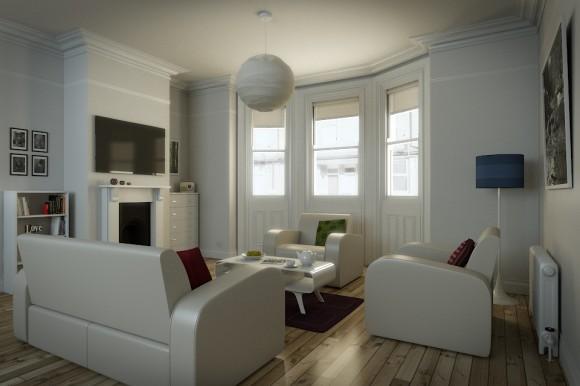 Model The White Room  BlenderNation