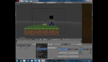 making minecraft animations in blender blendernation