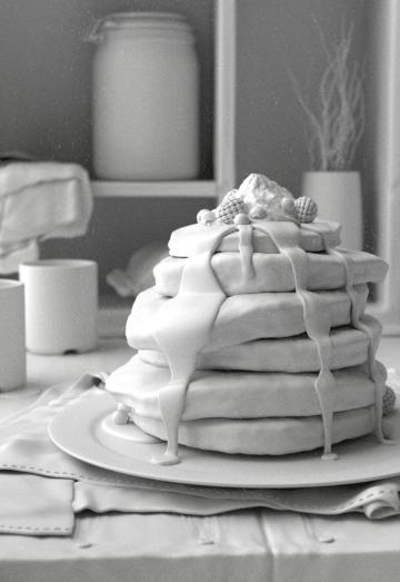 Pancake Clay Render