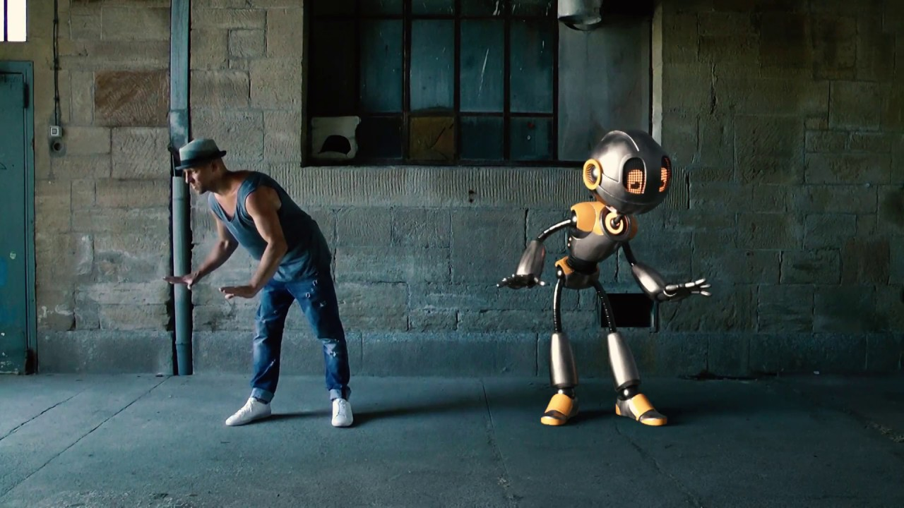 Animation Robot Dancing