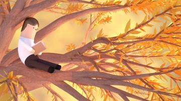 tzu-yu-kao-at-man-reading-book-on-the-tree