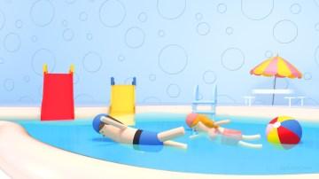 tzu-yu-kao-at-swimming-pool-for-kids