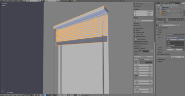 Windows and doors with Archipack. Blender 2.79