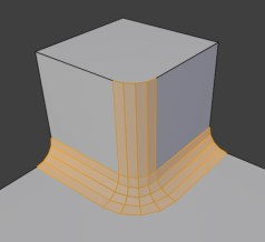 Blender2.8_Bevel_Arc_Miter