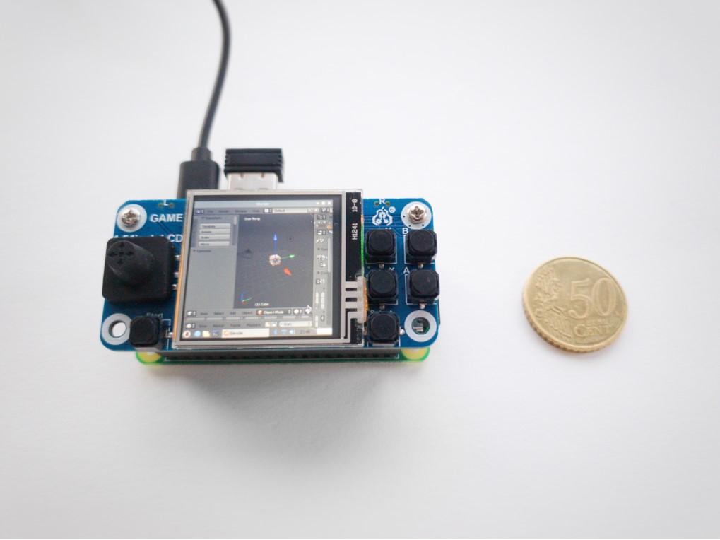 Tiny Blender Setup on a Raspberry Pi Zero - BlenderNation