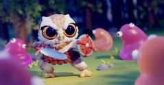 Cute Warrior - Owl