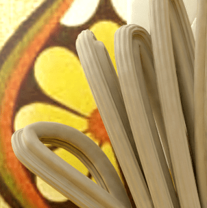 Rendered cord close-up.