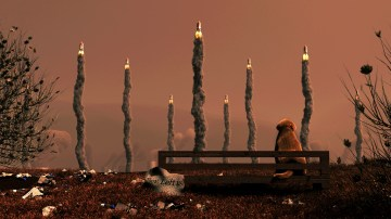 Farewell Earth - warm