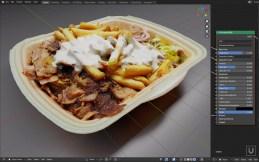 iU-Studios Food Scan Example Gyros 001