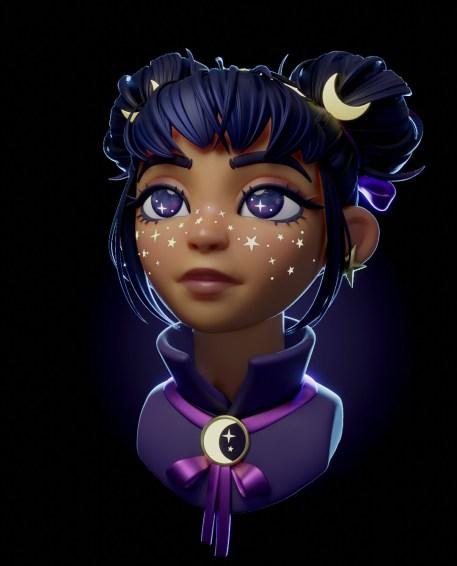 Space magic girl