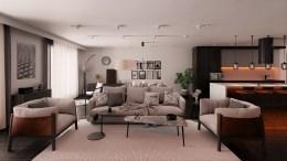 Apartment Interior by Kunal Bhoge