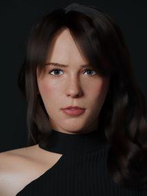 Portrait of Stefanie by Bryan
