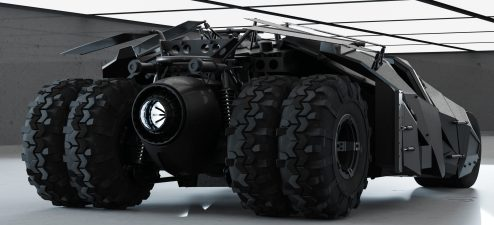 """Modeling and render """"tumbler"""" batman begins by Bass _Mania"""