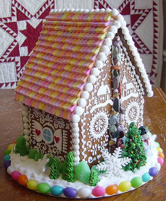 Roof Ideas For Gingerbread House House Interior