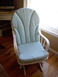 {blending beautiful}  Before and After: Rocking Chair ...