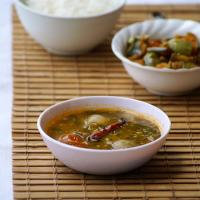 Thotakura Sambar Recipe ~ South Indian Amaranth Leaves Sambar Recipe
