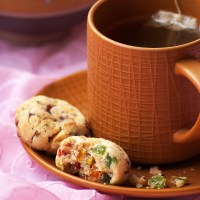 Eggless Fruitcake Cookies Recipe - Easy Fruit Cookies for Christmas