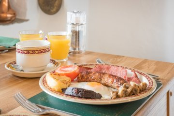 Delicious full English Breakfasts