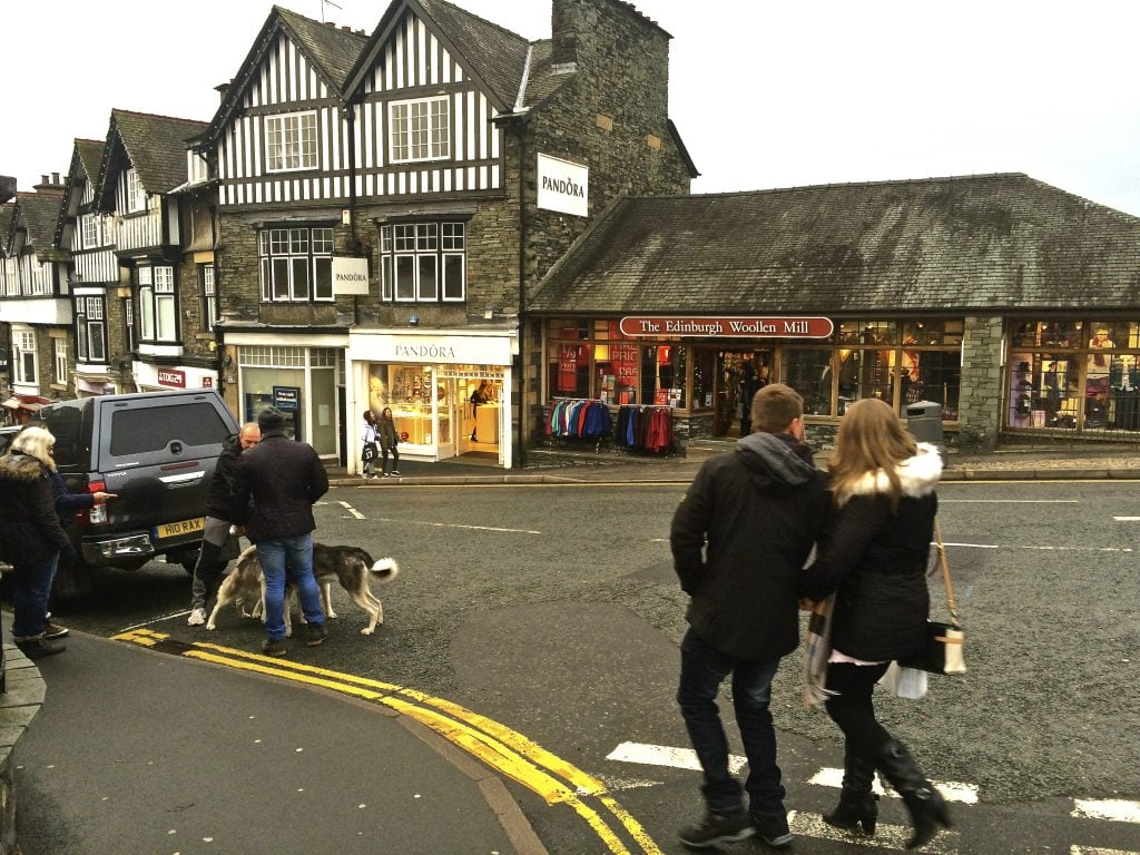 Three minutes' walk from our front door via Langrigge Drive is bustling Bowness centre with its many shops, countless restaurants and pubs, range of amenities, church and cinema.