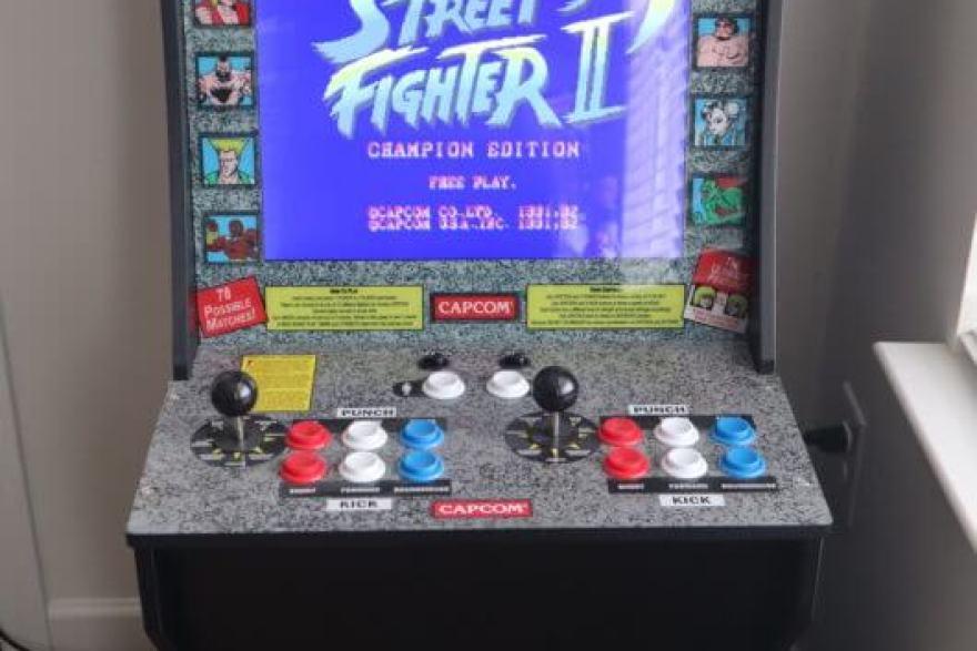Street Fighter Mini Arcade Machine