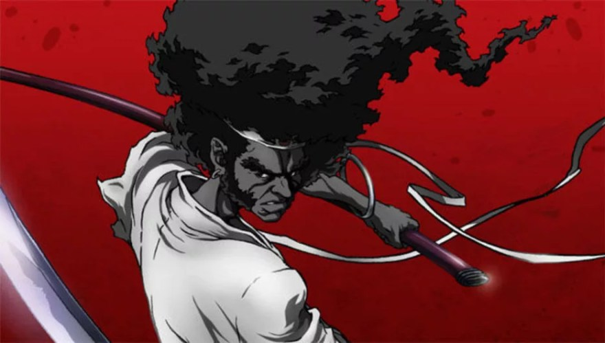 afro samurai black anime