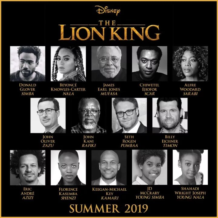 the lion king cast