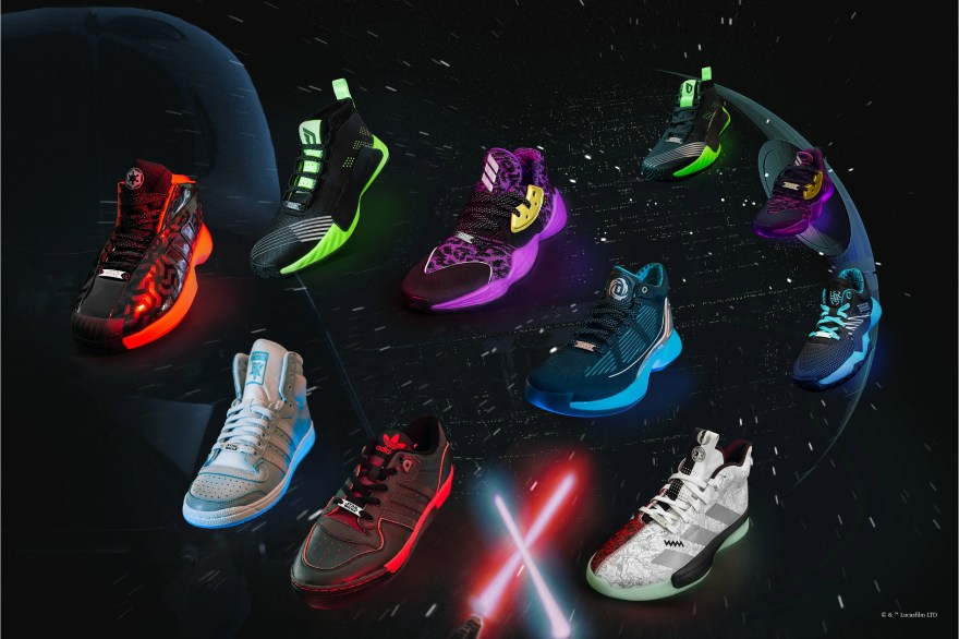 star wars adidas basketball