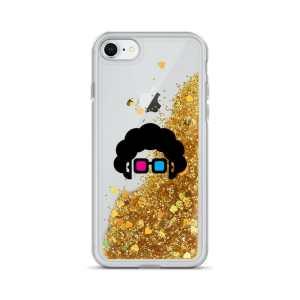Blerd Liquid Glitter iPhone Case