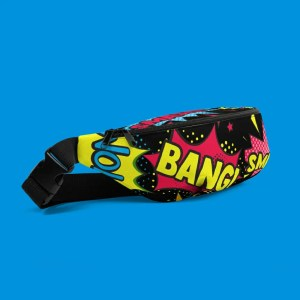 Blerd™ Comic Pop Art Fanny Pack