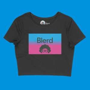 Blerd™ Wave Women's Crop Top
