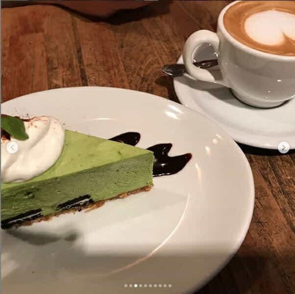 Green Tea Cheesecake Tokyo