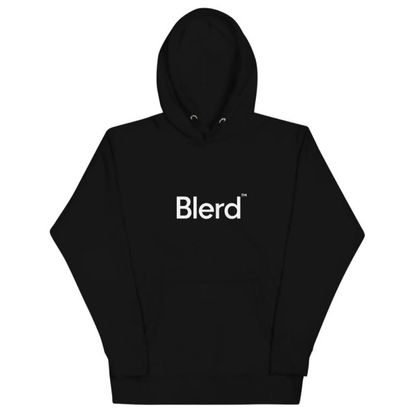 Blerd™ Quality PIQ Unisex Hoodie Front