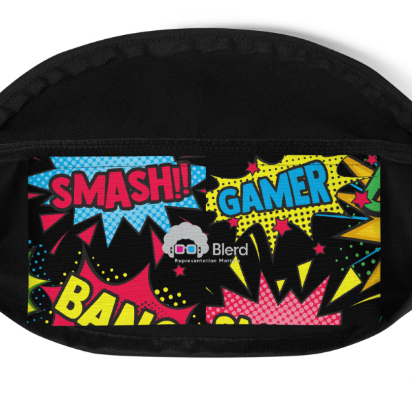 Blerd Comic Pop Art Fanny Pack 1