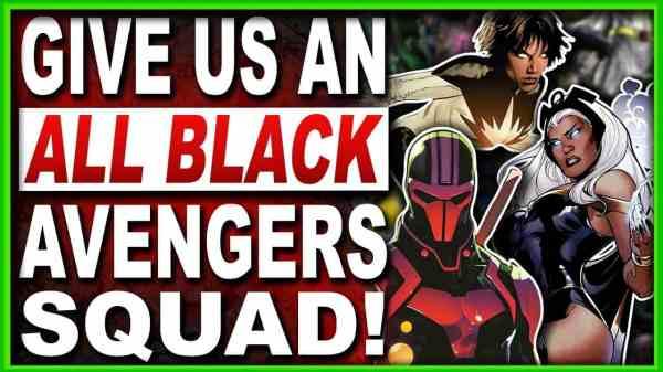 black avengers squad