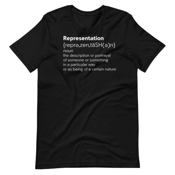 Blerd Representation Short-Sleeve Unisex T-Shirt