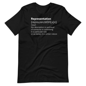 Blerd Representation Short-Sleeve Unisex T-Shirt