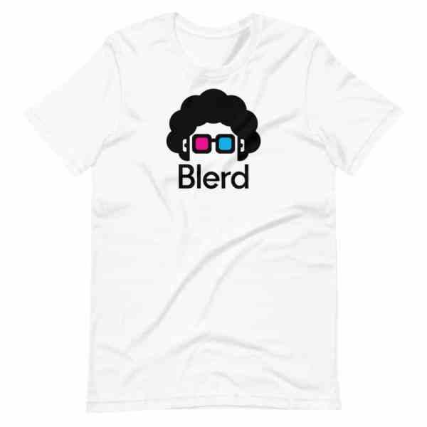 Blerd Shirt - Classic Logo - White