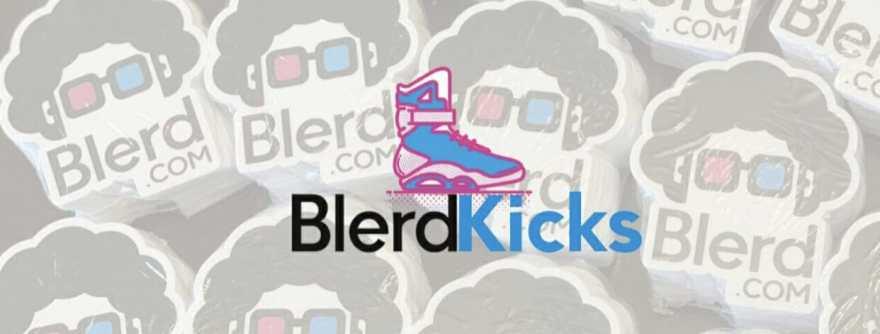 blerd kicks logo
