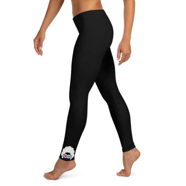 Blerd Classic Logo Leggings Left