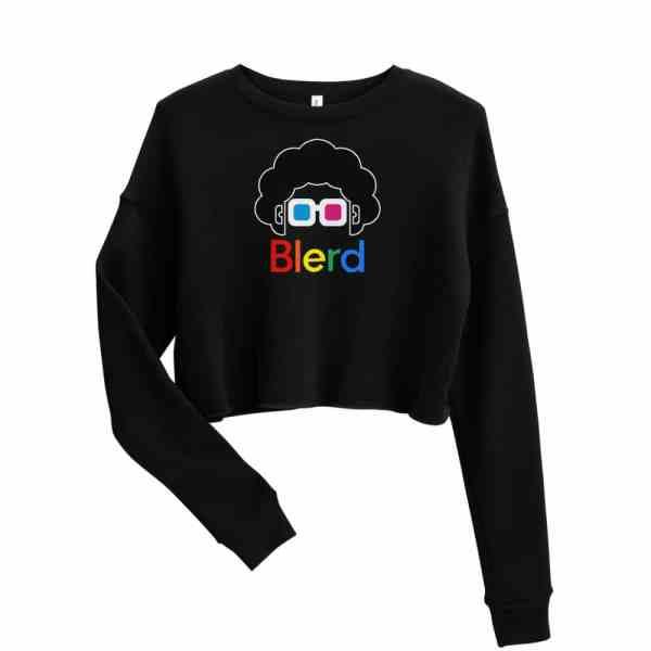 Blerd Pride Crop Sweatshirt