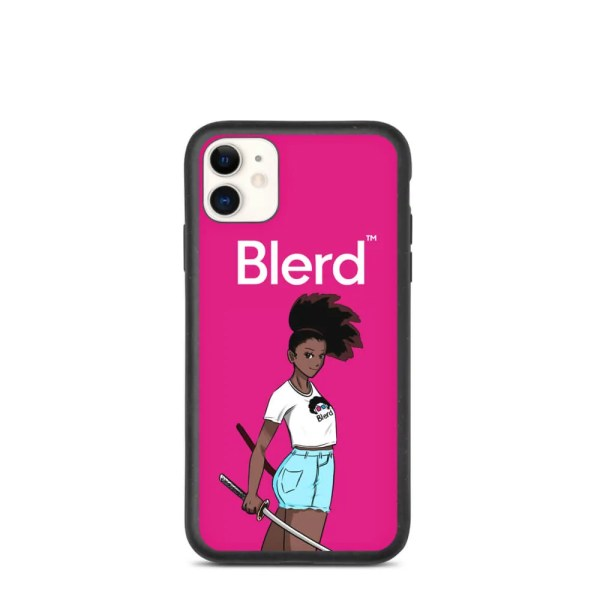 Blerd Quality Biodegradable iPhone Case